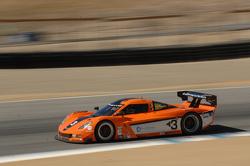 #3 8 Star Motorsports Corvette DP: Enzo Potolicchio,  Stephane Sarrazin,  Michael Valiante