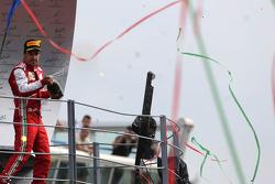 Second place Fernando Alonso, Scuderia Ferrari