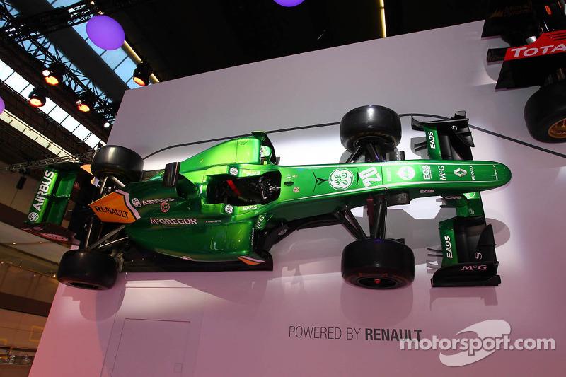 Caterham F1 bij Renault