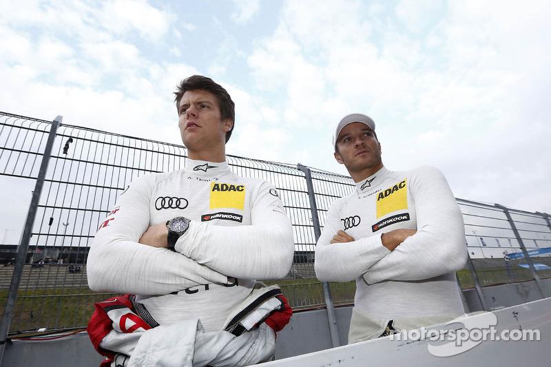 Adrien Tambay en Timo Scheider