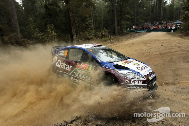 马特·奥斯伯格、乔纳斯·安德森,福特Fiesta RS WRC,Qatar M-Sport车队