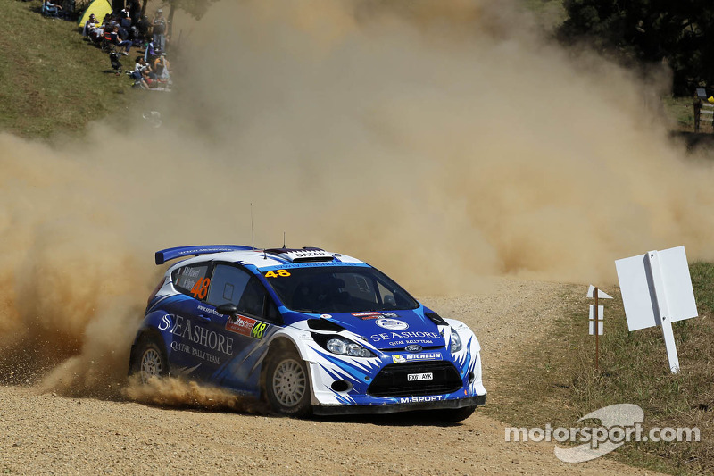 Abdulaziz Al Kuwari en Killian Duffy, Ford Fiesta RRC