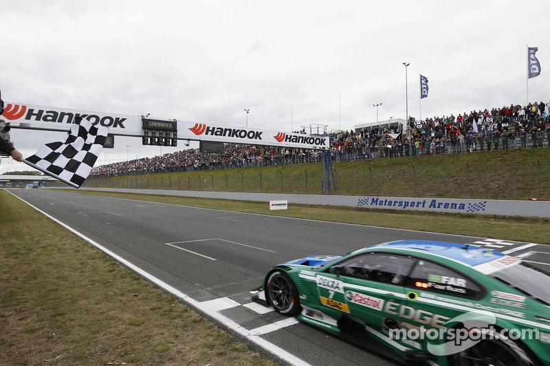 Augusto Farfus, BMW Team RBM BMW M3 DTM pakt de overwinning