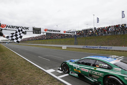 Augusto Farfus, BMW Team RBM BMW M3 DTM takes the win