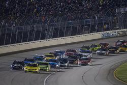 Restart: Matt Kenseth, Joe Gibbs Racing Toyota leads