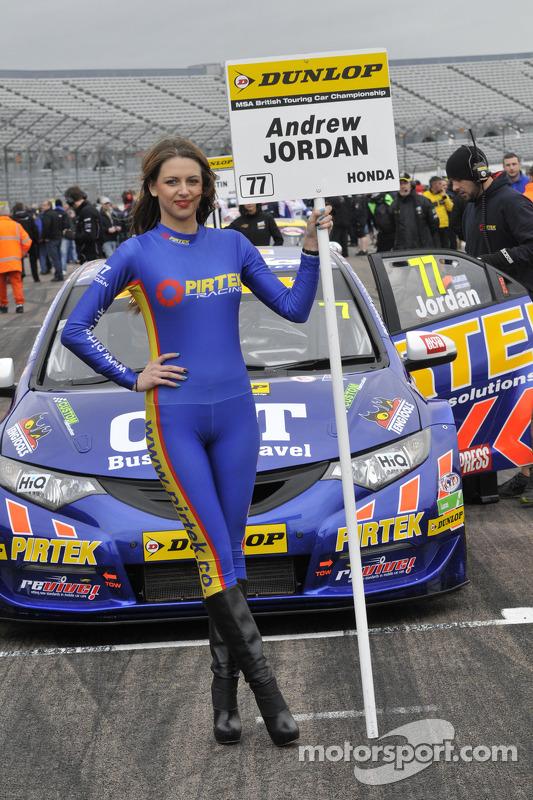 Pirtek Racing Grid Girl