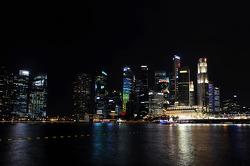 Gran vista de Singapore