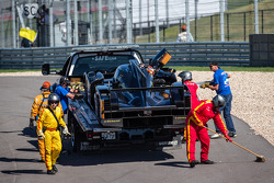 #31 Lotus Lotus T128: Kevin Weeda, Vitantonio Liuzzi, James Rossiter wordt afgevoerd