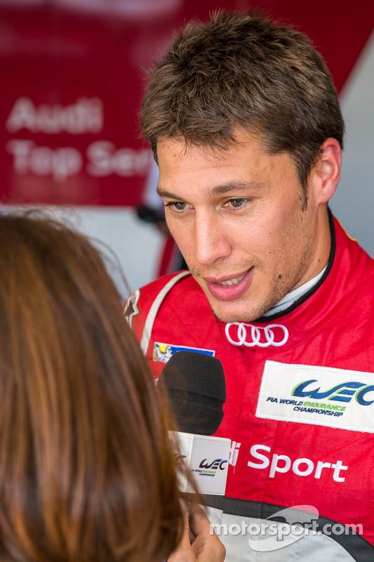 Loic Duval entrevista depois de conseguir a pole