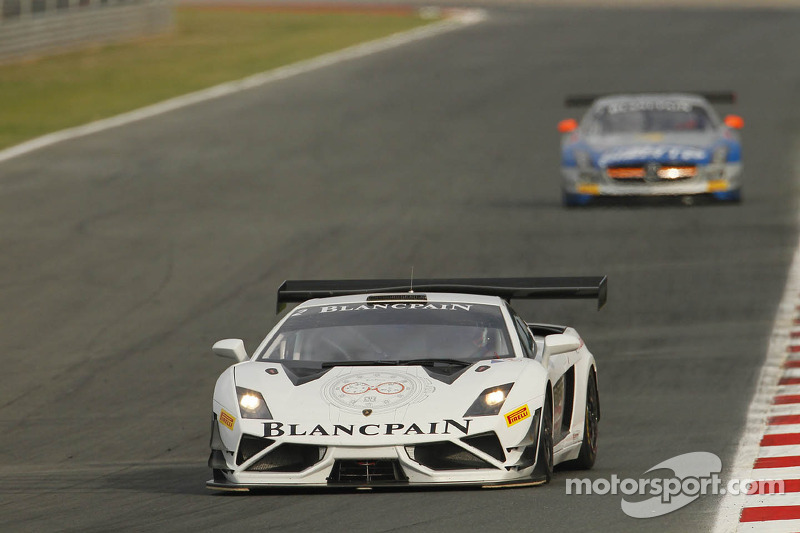 #23 Blancpain Reiter Lamborghini LP560-4: Marc Basseng, Stefan Rosina
