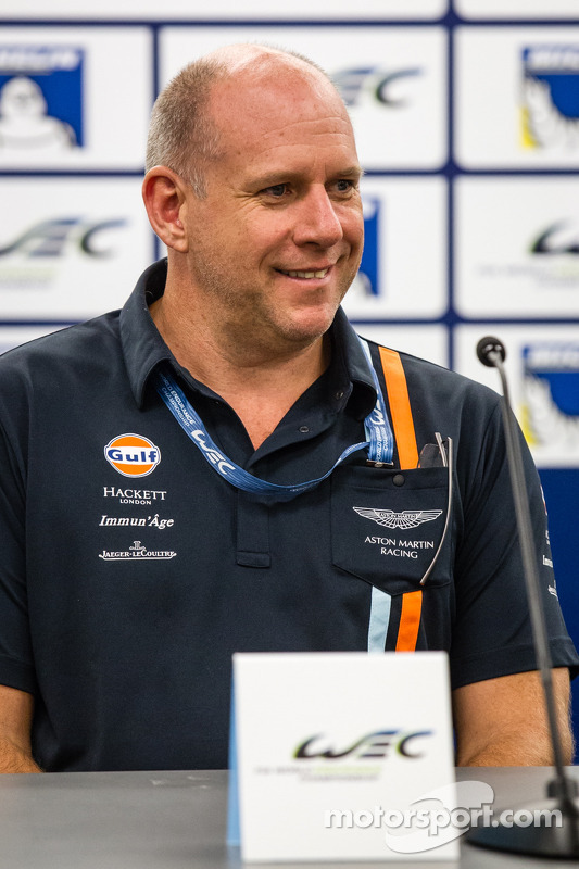 Coletiva para o North American WEC pilotos: Paul Dalla Lana