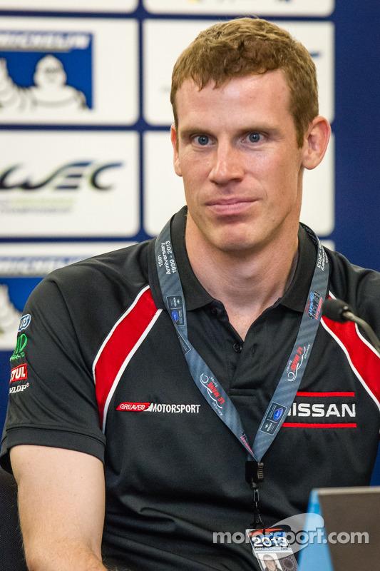 Coletiva para o North American WEC pilotos: Chris Dyson