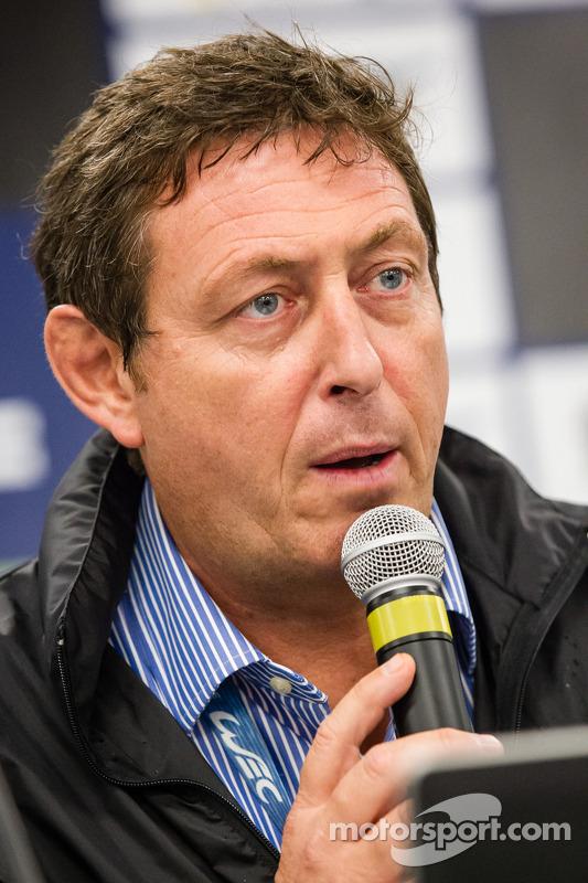 FIA WEC, conferência de imprensa: FIA WEC CEO Gérard Neveu