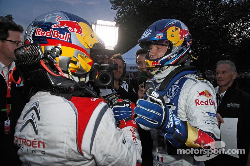 Sébastien Loeb y Sébastien Ogier