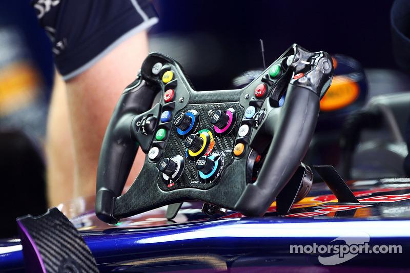 Red Bull Racing RB9 steering wheel