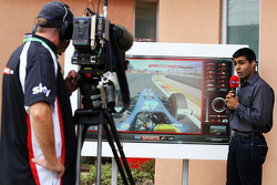Karun Chandhok, Sky Sports F1 Commentator