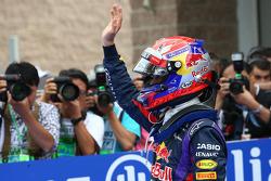 Pole position for Sebastian Vettel, Red Bull Racing