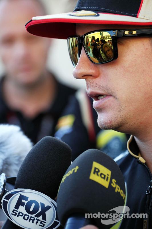 Kimi Raikkonen, Lotus F1 Team com a equipe