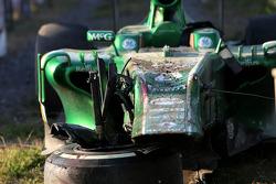 De auto van Giedo van der Garde, Caterham F1 Team