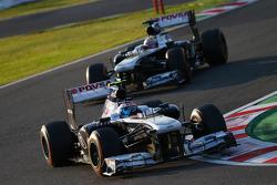 Valtteri Bottas, Williams FW35 ve Pastor Maldonado, Williams FW35
