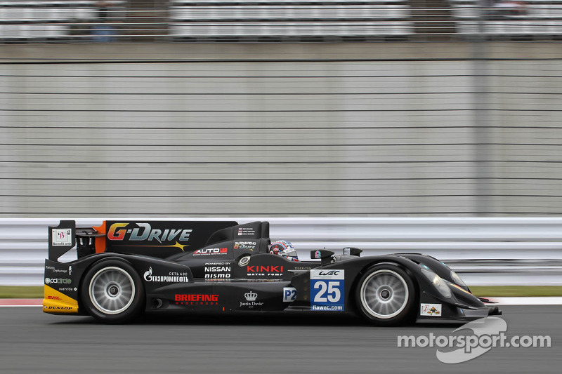 #25 Delta-ADR Oreca 03 - Nissan: Tor Graves, James Walker, Shinji Nakano