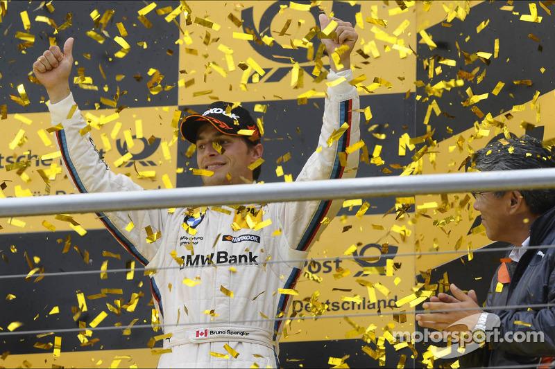 3e plaats in het kampioenschap voor Bruno Spengler, BMW Team Schnitzer