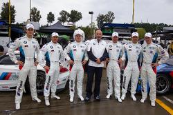 BMW Team RLL: Dirk Müller, John Edwards, Bill Auberlen, Maxime Martin, Jörg Mu_ller, Uwe Alzen com B