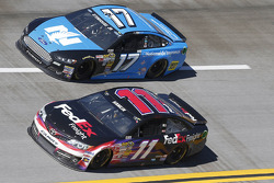 Denny Hamlin and Ricky Stenhouse Jr.