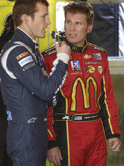 Kasey Kahne and Jamie McMurray