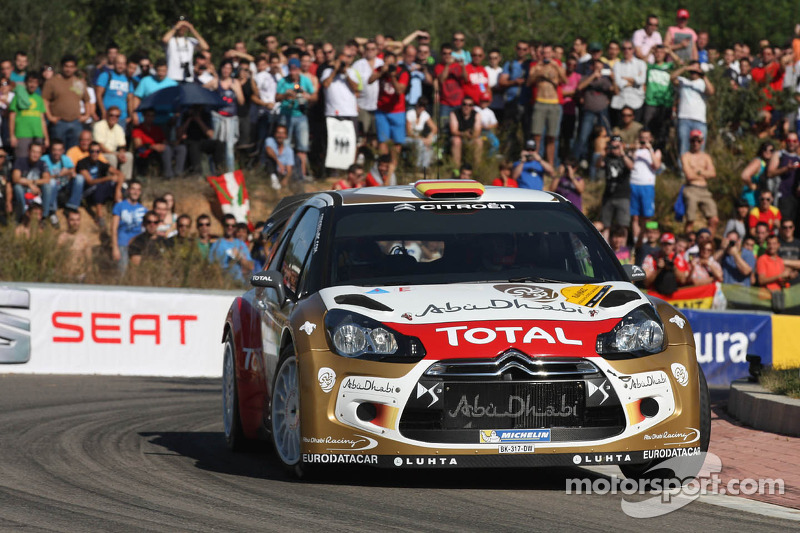 Daniel Sordo y Carlos del Barrio, Citroen DS3 WRC, Citroën Total Abu Dhabi World Rally Team