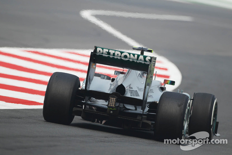Lewis Hamilton, Mercedes AMG F1 W04 leaves the pits