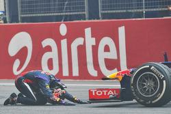 Sebastian Vettel (Red Bull), champion du monde 2013