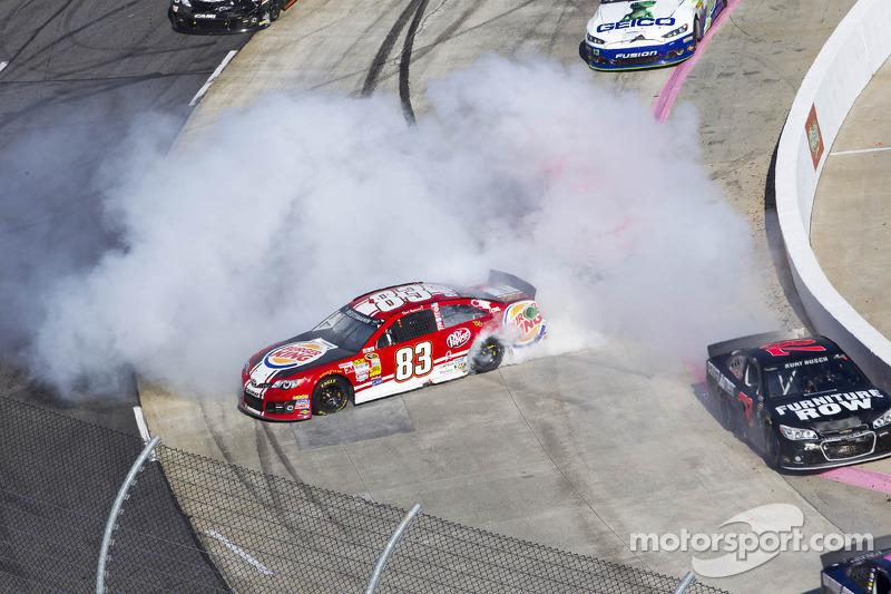 Trouble for David Reutimann, BK Racing Toyota