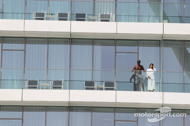 Guests at the Yas Viceroy Hotel