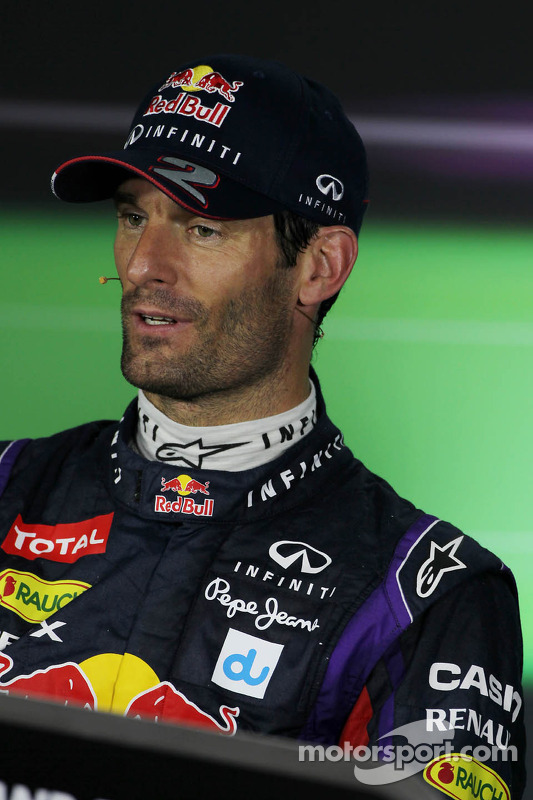 Mark Webber, Red Bull Racing na coletiva da FIA