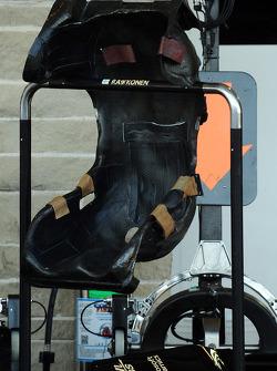 Kimi Raikkonen's seat?