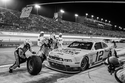 Pit stop Sam Hornish Jr.