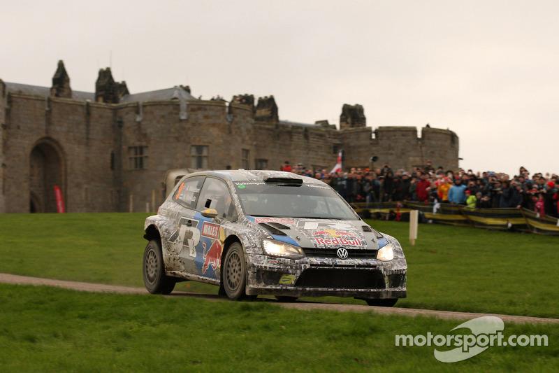 Andreas Mikkelsen y Mikko Markkula, Volkswagen Polo WRC, Volkswagen Motorsport