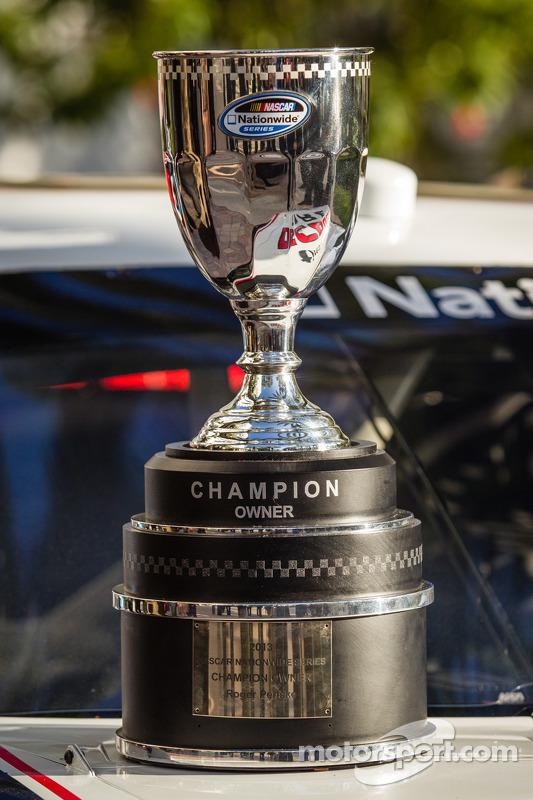 NASCAR Nationwide Series champion owner troféu