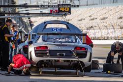 #35 Flying Lizard Motorsports Audi R8: Dion von Moltke, Oliver Jarvis