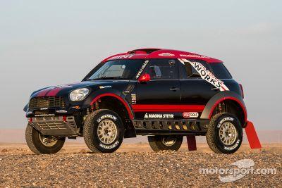 X-Raid Mini Dakar presentatie
