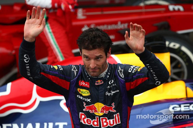 2e plaats Mark Webber, Red Bull Racing