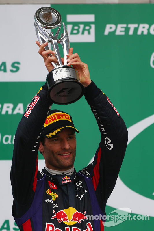 segundo colocado Mark Webber, Red Bull Racing