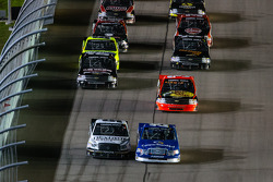 Restart: Ryan Blaney and Johnny Sauter lead the field