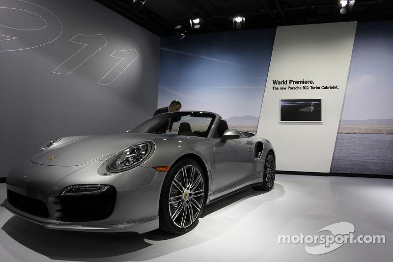 2014 Porsche 911 Turbo Cabriolet At Los Angeles Auto Show