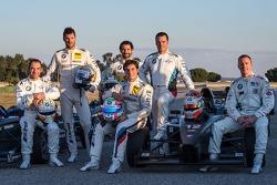Jorg Muller, Martin Tomczyk, Timo Glock, Bruno Spengler, Dirk Muller e Maxime Martin
