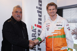 Nico Hulkenberg signs with Force India