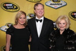 Lesa France Kennedy, Brian France en Betty Jane France