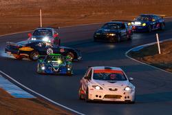 #86 Kleen Blast / Davids Racing Products Cheverolet Camaro: Mike David, Steve Johnson, Tim Spurgeon escapando