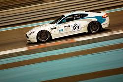 #93 Yas Marina Circuit Aston Martin V8 Vantage GT4: Abbas Al Alawi, Saeed Bintowq, Haytham Sultan